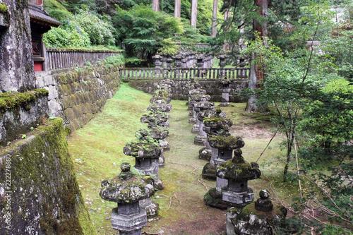 Foto Murales 日光_ 庭園 #Shrines and Temples of Nikko. Japan