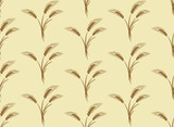Seamless background with wheat. - 222281876