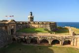 Beautiful view of fort San Felipe Del Morro in San Juan, Puerto Rico - 222288265