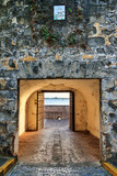 Ancient entrance gate to the city of old San Juan in Puerto Rico - 222288872