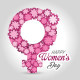 women day card icon