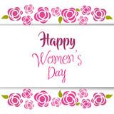 international women day card icon