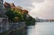 Stadt am Fluss - Basel in der Schweiz