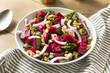 Leinwandbild Motiv Healthy Organic Beetroot Salad