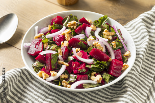 Healthy Organic Beetroot Salad - 222352836