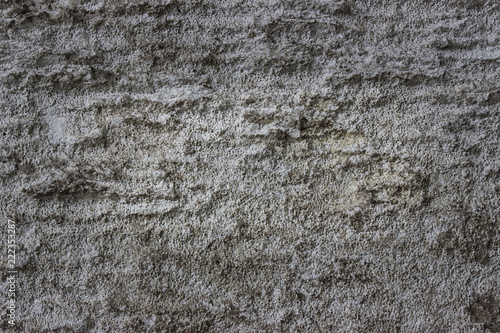 dark texture of an old wall of gray stone close-up - 222353287