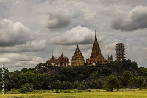 Temple (wat) in Thailand