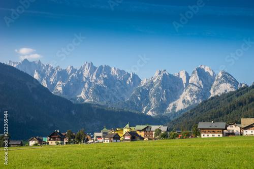 Wall mural Alpen Berge Pannorama Österreich
