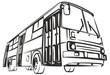 Sketch of big bus.