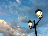 Street lamps in Spain  - 222439299