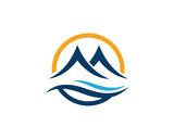 Mountain icon Logo - 222439674