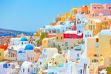 Santorini on sunny day - 222457218
