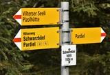 signalisation pour randonneurs - 222490003