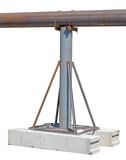 large diameter rusty steel pipe - 222510227