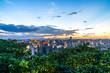 panoramic city skyline in hangzhou china - 222513876