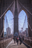Brooklyn Bridge Perspective, New York City - 222519890