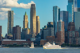 View to Manhattan Skyline from New Jersey, USA - 222521223