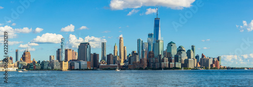 View to Manhattan Skyline from New Jersey, USA - 222521219
