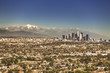 Cityscape downtown view of Los Angeles California USA