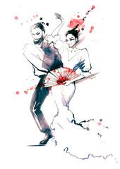 ballroom dance © okalinichenko