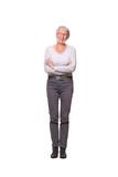 Caucasian full body woman - 222539853