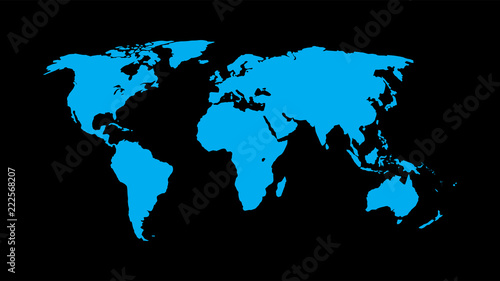World map vector isolate on blank background flat earth map for world map vector isolate on blank background flat earth map for website annual gumiabroncs Image collections