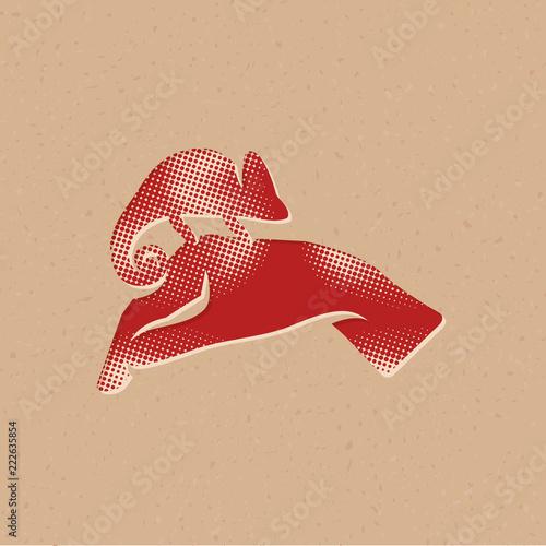 Ikona półtonów - pielęgnacja zwierząt