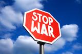 Stop war sign - 222642605