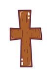 religion wood cross catholic symbol