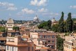 Ausblick über Rom zum Petersdom