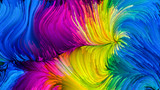 Vision of Colorful Paint - 222685262