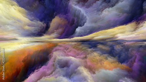 Virtual Abstract Landscape - 222686464
