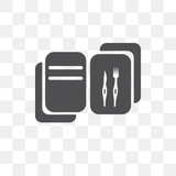 Recipe vector icon isolated on transparent background, Recipe logo design - 222700093