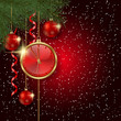 Merry Christmas and Happy New Year vector background