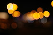 Bokeh city at night as an abstract background - 222747806