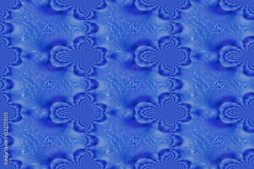 Abstract fractal ornament. - 222759213