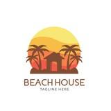 Beach house logo - 222765888