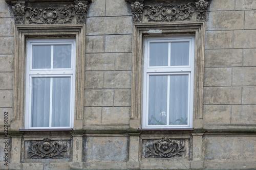okna kamienicy