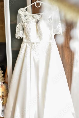 Bride S Morning Wedding Dress