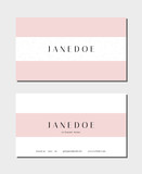 Business Card Template - 222770870
