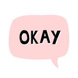 Okay Retro Typographic Design - 222774452