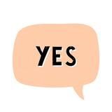 Yes Retro Typographic Design - 222777860