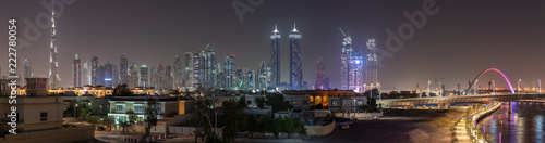 Leinwanddruck Bild Dubaiy city travel photography, United arabic emirates