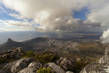 citta' del capo vista da table mountain