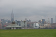 Manhattan skyline from Pier A Park, Hoboken, New Jersey, NYC