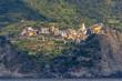 Cinque terre - Corniglia view from the sea - 222798423