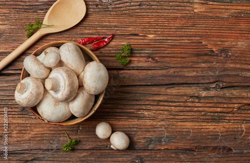 Świeże grzyby gospodarskie