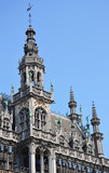 Building details of the Museum of the City of Brussels located at the Grand Place, Belgium - 222848073