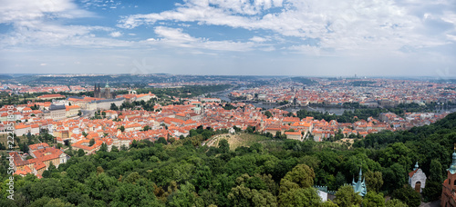 Panorama of Prague - 222851808