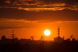 Sunset in Kyiv